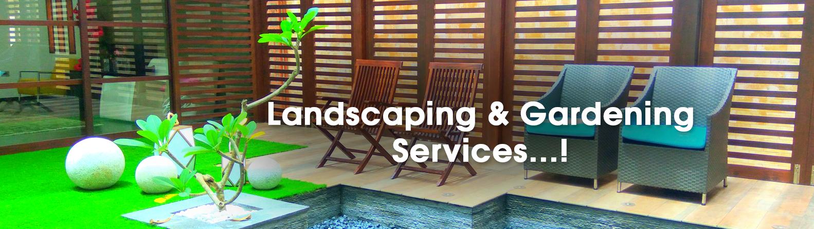 Landscape & Gardening Services