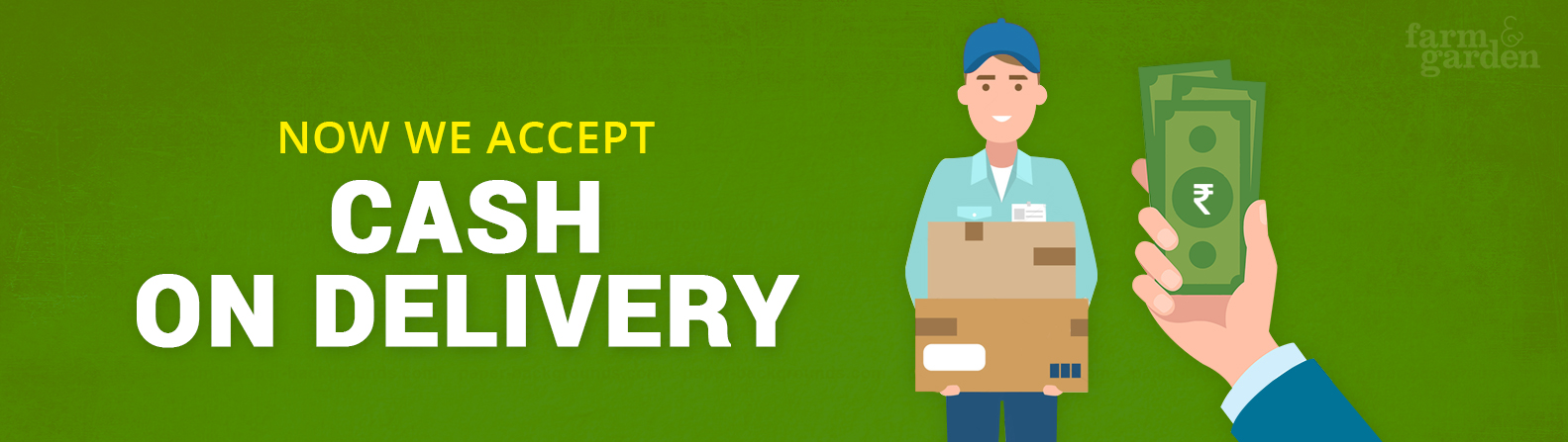 Cash On Delivery all over India