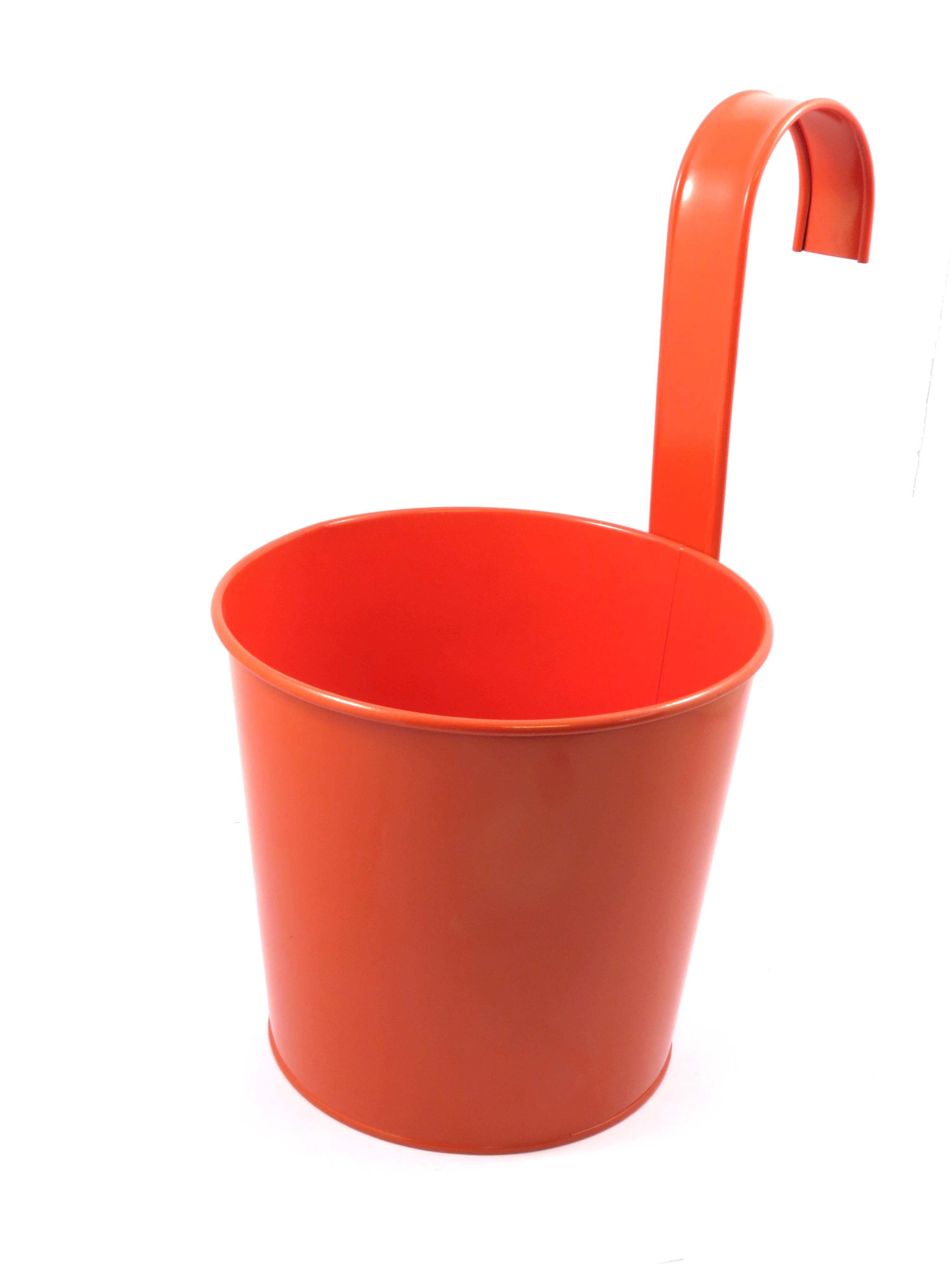 ROUND FLOWER POT WITH HOOK(R)