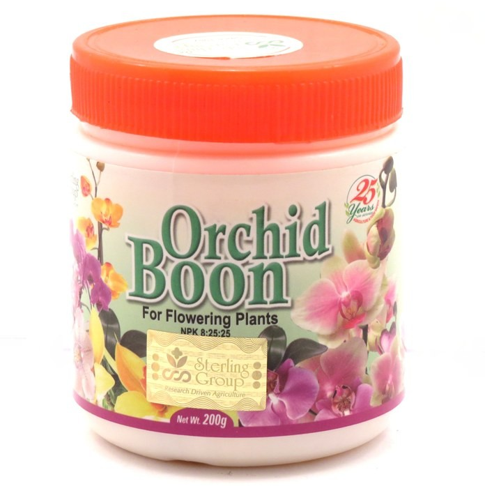 orchid flowering fertilizer