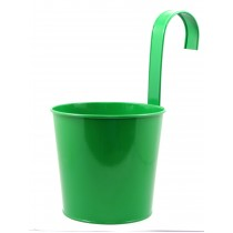 ROUND FLOWER POT WITH HOOK(G)