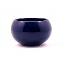 f&g Small ceramic pot(BLUE)
