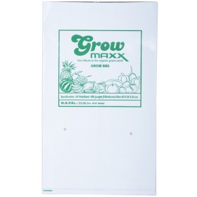 GROWMAXX PLASTIC PLANT GROWING BAGS  - SET OF 10