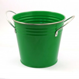 SOLID COLOR FLOWER POT(GREEN)