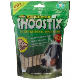 CHOOSTIX NATURAL DOG TREAT 450G