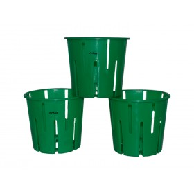 ORCHID POT GREEN (SET OF 3)