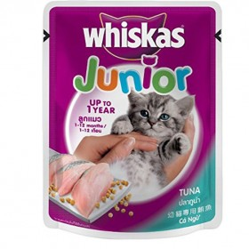 WHISKAS KITTEN TUNA COMBO BOX, 85G (PACK OF 6)