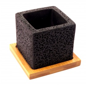 F&G CUBE CEMENT POT