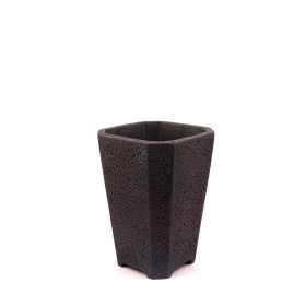 CEMENT POT(BLACK)