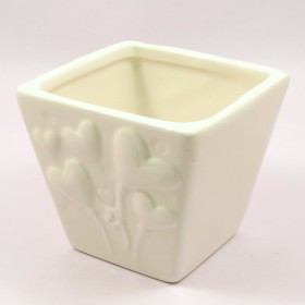 F&G TABLE TOP CERAMIC POT