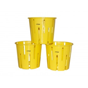 ORCHID POT YELLOW (SET OF 3)