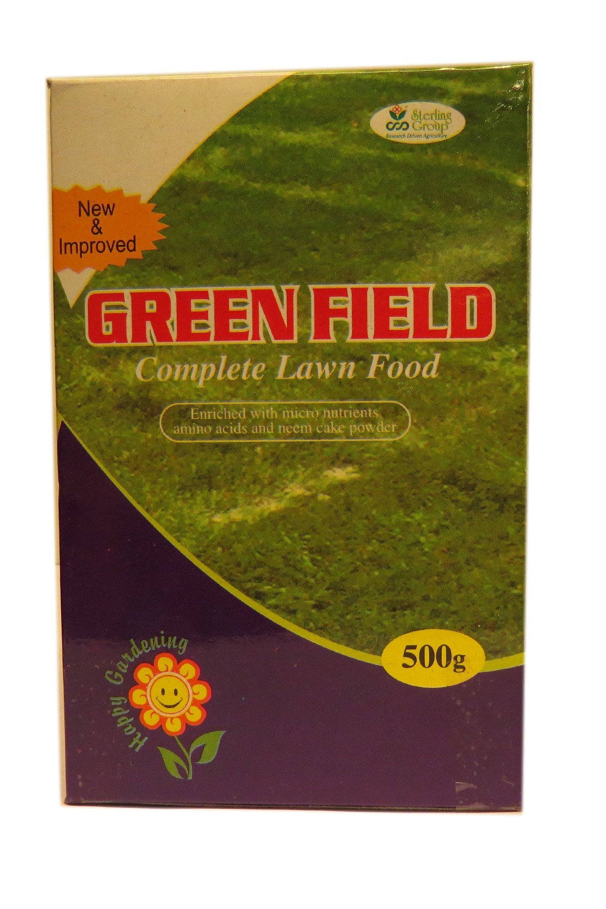 Green Field Lawn Food 500g