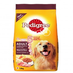PEDIGREE ADULT MEAT & RICE 1.2KG BY PEDIGREE