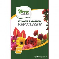 GROWMAXX FLOWER & GARDEN FERTILIZER 500G