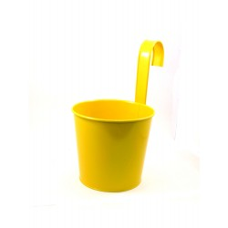 ROUND FLOWER POT WITH HOOK(Y)