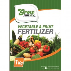 GROWMAXX VEGETABLE & FRUIT FERTILIZER 1 KG